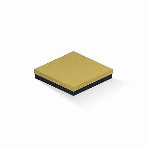 Caixa de presente | Quadrada F Card Ouro-Preto 18,5x18,5x4,0