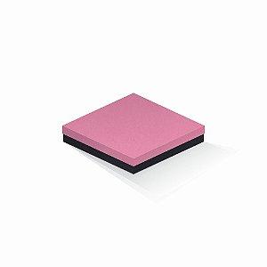 Caixa de presente | Quadrada F Card Rosa-Preto 18,5x18,5x4,0