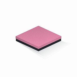 Caixa de presente | Quadrada F Card Rosa-Preto 20,5x20,5x4,0