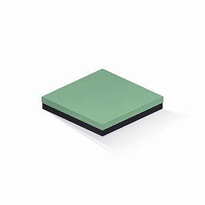 Caixa de presente | Quadrada F Card Verde-Preto 20,5x20,5x4,0
