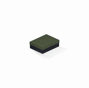 Caixa de presente | Retângulo F Card Scuro Verde-Preto 10,0x13,0x3,5