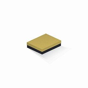 Caixa de presente | Retângulo F Card Ouro-Preto 12,0x15,0x4,0
