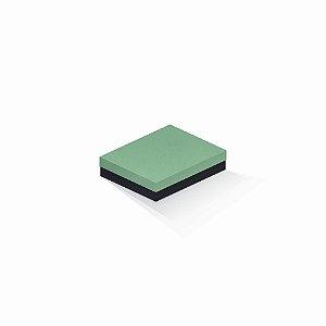 Caixa de presente | Retângulo F Card Verde-Preto 12,0x15,0x4,0