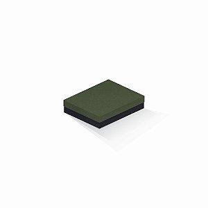 Caixa de presente | Retângulo F Card Scuro Verde-Preto 12,0x15,0x4,0