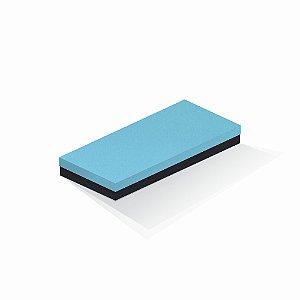 Caixa de presente | Retângulo F Card Azul-Preto 13,0x29,0x4,0