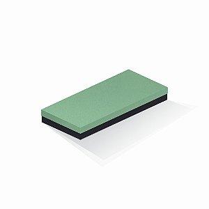 Caixa de presente | Retângulo F Card Verde-Preto 13,0x29,0x4,0