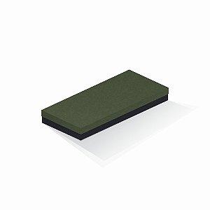 Caixa de presente | Retângulo F Card Scuro Verde-Preto 13,0x29,0x4,0