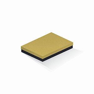 Caixa de presente | Retângulo F Card Ouro-Preto 16,0x22,5x4,0