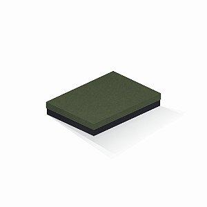 Caixa de presente | Retângulo F Card Scuro Verde-Preto 16,0x22,5x4,0
