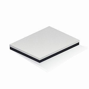 Caixa de presente | Retângulo F Card Branco-Preto 23,5x31,0x3,5