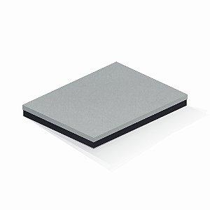 Caixa de presente | Retângulo F Card Cinza-Preto 23,5x31,5x3,5
