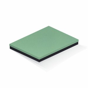 Caixa de presente | Retângulo F Card Verde-Preto 23,5x31,0x3,5