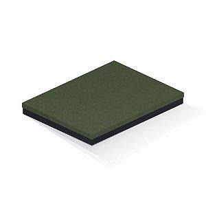 Caixa de presente | Retângulo F Card Scuro Verde-Preto 23,5x31,0x3,5