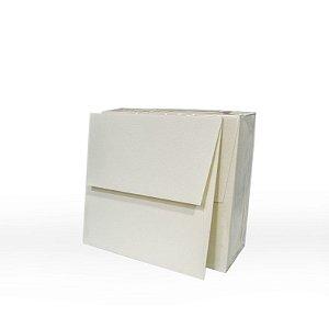 Lote 35 - Envelope Aba Reta 15,0x15,0 - 50 unid.