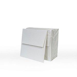 Lote 40 - Envelope Aba Reta 10,0x10,0 - 50 unid.