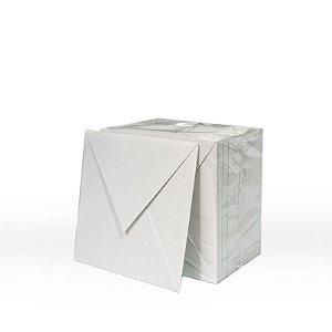 Lote 47 - Envelope Aba Bico 8,0x8,0 - 50 unid.