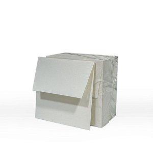 Lote 50B - Envelope Aba Reta 8,0x8,0 - 50 unid.