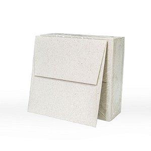 Lote 57B- Envelope Aba Reta 10x10 - 50 unid.