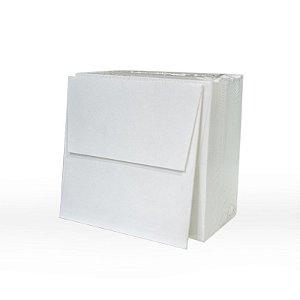 Lote 59- Envelope Aba Reta 10x10 - 50 unid.