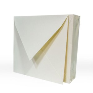 Lote 67 - Envelope Aba Bico 15,0x15,0 - 50 unid.