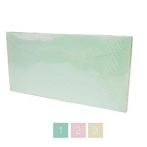 Lote 87 - Envelope Retângulo Aba Bico Curva 11,6x22,9 - 50 unid.