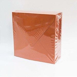 Lote LE045 - Envelope Aba Bico 10,0x10,0 - 50 unid.