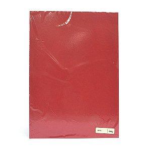 Lote A4-019 - F.C.S. Vermelho - 240g - 25fls
