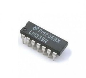 LM339 - CI Comparador Quádruplo