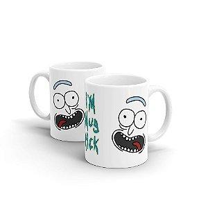 Caneca Cerâmica I'm Mug Rick