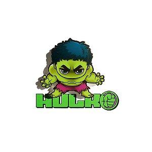 Mini Luminária 3D Light FX Hulk - Marvel