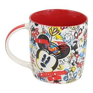 Caneca Minnie 320ml Crayon - Disney