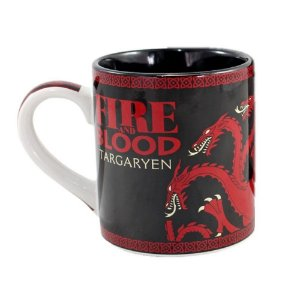 Caneca Targaryen Fire And Blood - Game Of Thrones