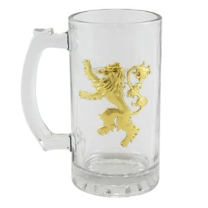 Caneca Emblema Metal Lennister - Game of Thrones