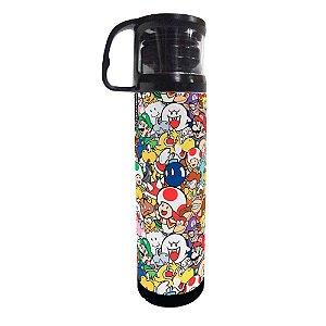 Garrafa Térmica Pattern Mario - Mario Bros