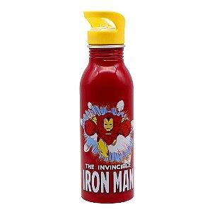 Garrafa De Aluminio Iron Man - Mavel