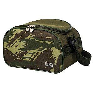 Bag Térmica Masculina Marmiteira com Alça Tiracolo Militar