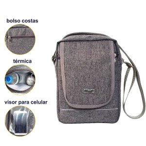 Bolsa Tiracolo Shoulder Bag Unissex Original CK Presentes