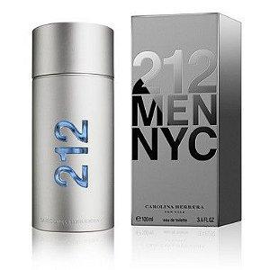 212 Men NYC Carolina Herrera Masculino - Eau de Toilette -100ml