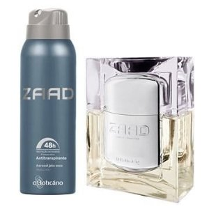 Kit Zaad Colônia + Desodorante O Boticário