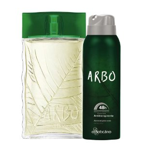 Kit Arbo Colônia + Desodorante Presente O Boticário
