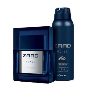 Kit Combo Zaad Mondo Eau de Parfum + Desodorante