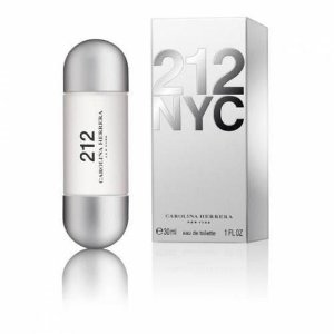 212 Nyc Eau de Toilette Perfume Feminino 30ml Tradicional