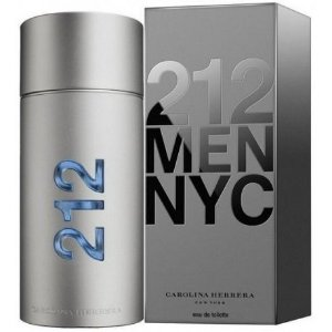 212 Men Eau de Toilette Carolina Herrera - Perfume Masculino 200ml