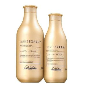 Kit Loreal Absolut Repair Cortex Lipidium Shampoo + Condicionador
