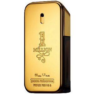 One 1 Million Paco Rabanne Eau de Toilette Perfume Masculino 50ml