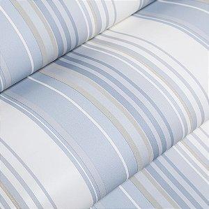 Papel De Parede Listrado Importado Vinílico Lavável Textura Em Relevo 5146