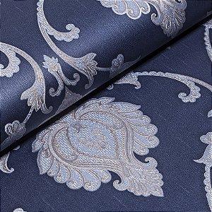 Papel De Parede Importado Vinílico Lavável Textura Em Relevo 5559