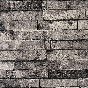 Papel De Parede Importado Vinílico Lavável Textura Em Relevo 5522