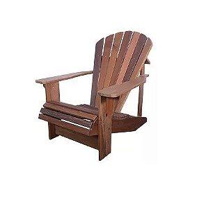 Cadeira Para Jardim Poltrona Pavão Madeira Demolição