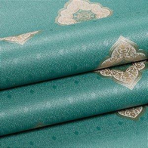 Papel De Parede Dekor Importado Lavável Textura Em Relevo 5827